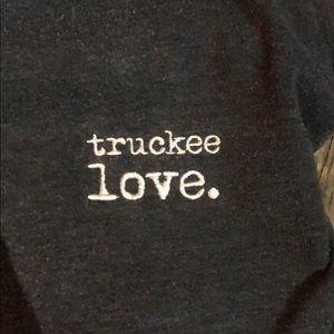 American Apparel Tops - Truckee Love hand stitched sweatshirt